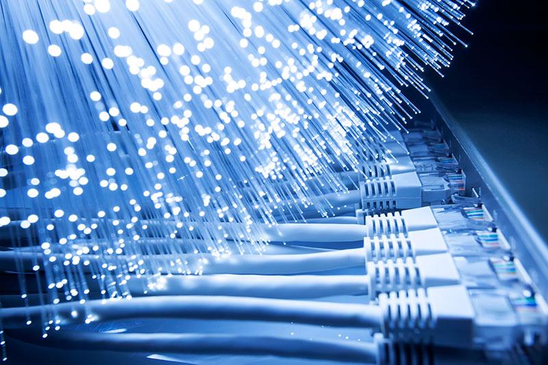 Netkabler i router