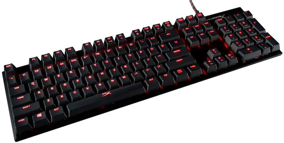 Hyperx Alloy FPS gamer tastatur