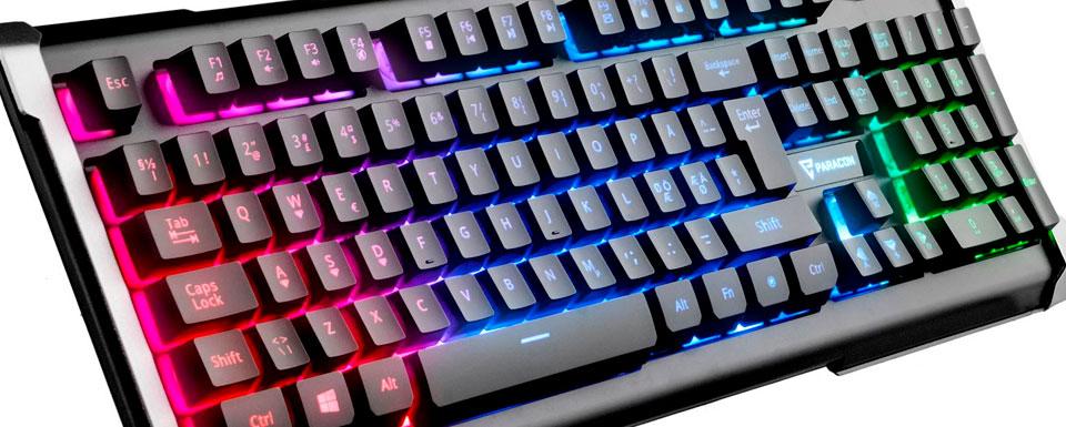 Paracon SPECTRA gamer tastatur